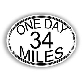 Rachel Carson Trail Challenge sticker